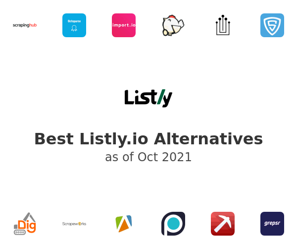 Best Listly.io Alternatives