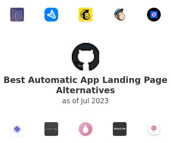 Best Automatic App Landing Page Alternatives