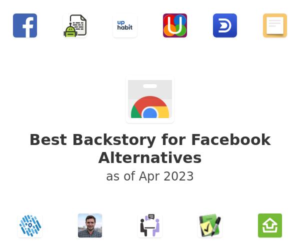 Best Backstory for Facebook Alternatives