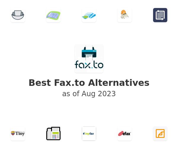 Best Fax.to Alternatives