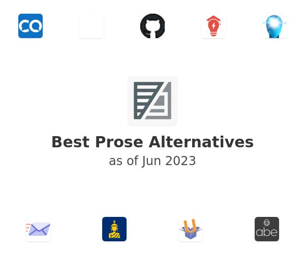 Best Prose Alternatives