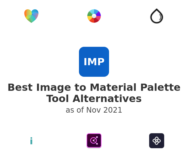 Best Image to Material Palette Tool Alternatives