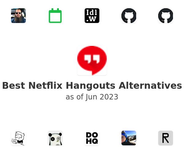 Best Netflix Hangouts Alternatives