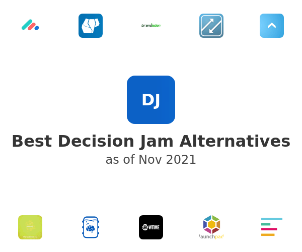 Best Decision Jam Alternatives