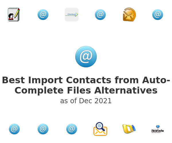 Best Import Contacts from Auto-Complete Files Alternatives