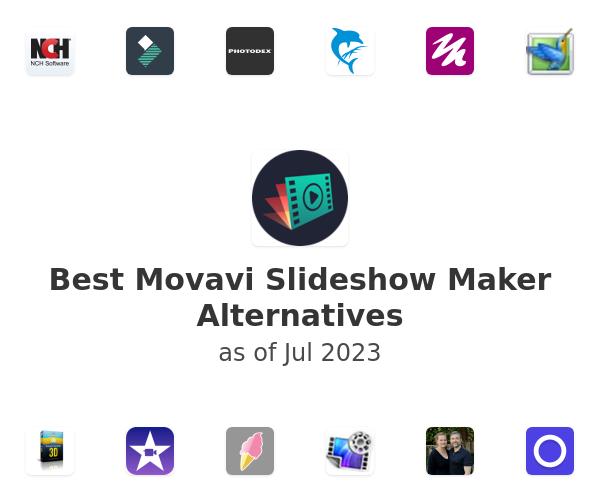 Best Movavi Slideshow Maker Alternatives