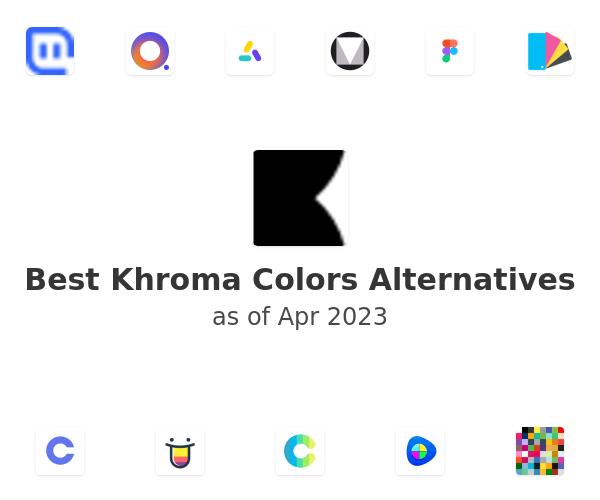 Best Khroma Colors Alternatives