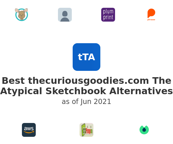 Best thecuriousgoodies.com The Atypical Sketchbook Alternatives