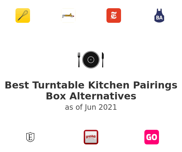 Best Turntable Kitchen Pairings Box Alternatives