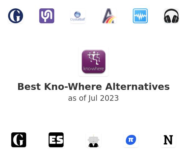 Best Kno-Where Alternatives