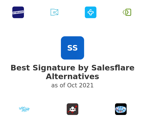 Best Signature by Salesflare Alternatives