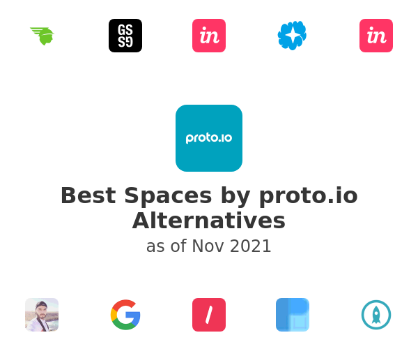Best Spaces by proto.io Alternatives