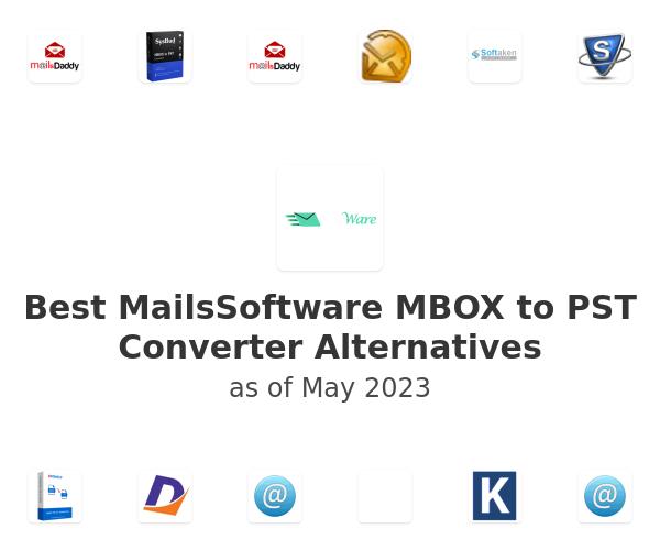 Best MailsSoftware MBOX to PST Converter Alternatives