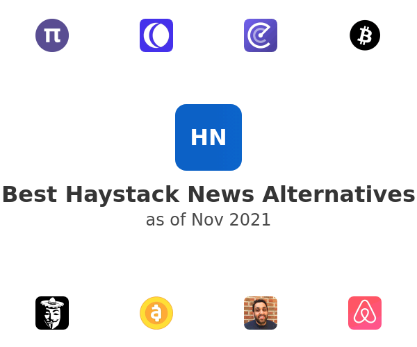 Best Haystack News Alternatives