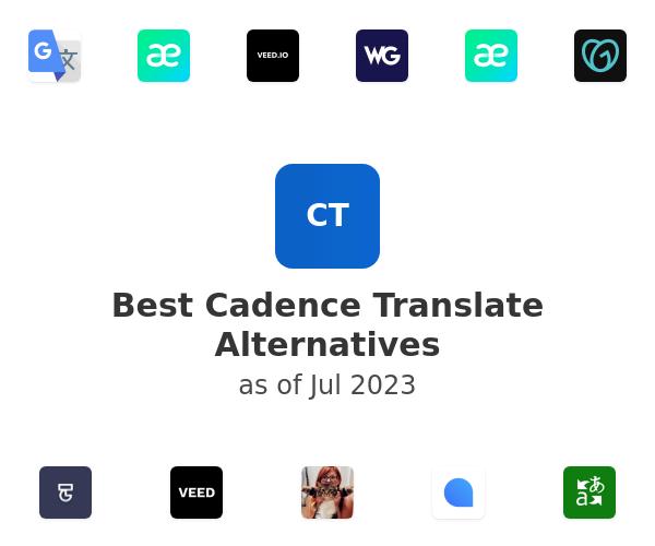 Best Cadence Translate Alternatives