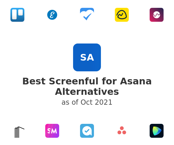 Best Screenful for Asana Alternatives