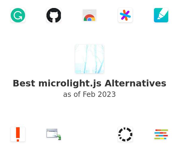 Best microlight.js Alternatives