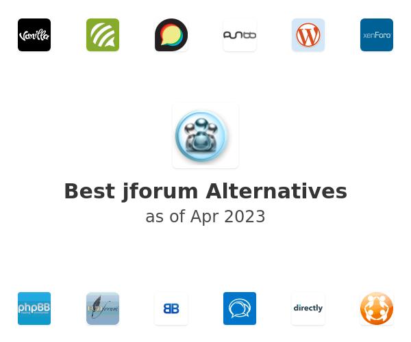 Best jforum Alternatives
