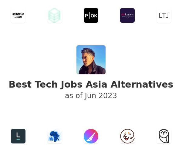 Best Tech Jobs Asia Alternatives