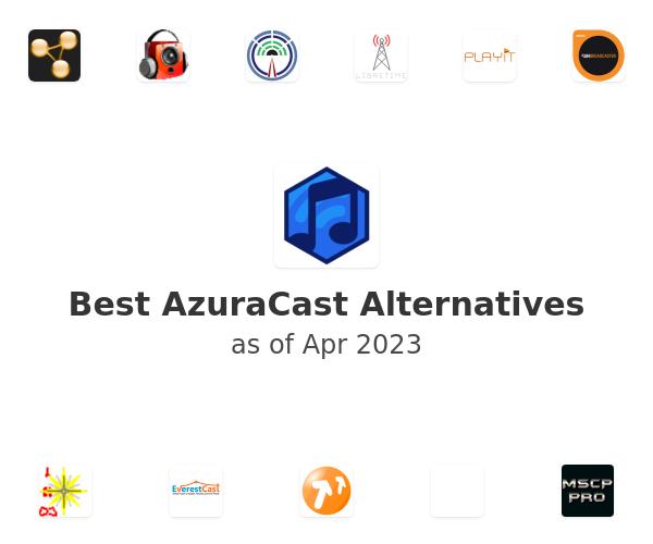 Best AzuraCast Alternatives