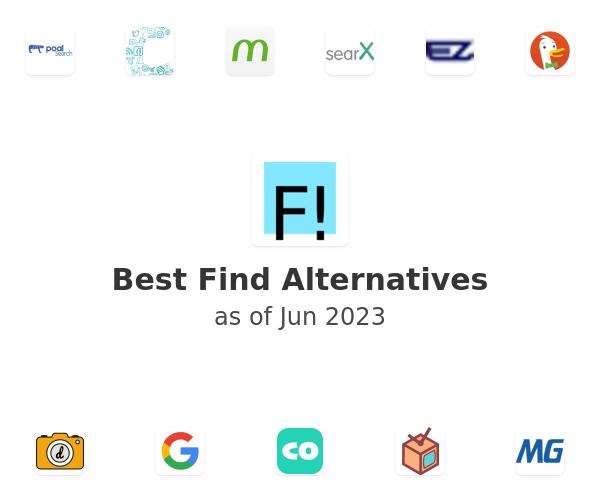 Best Find Alternatives