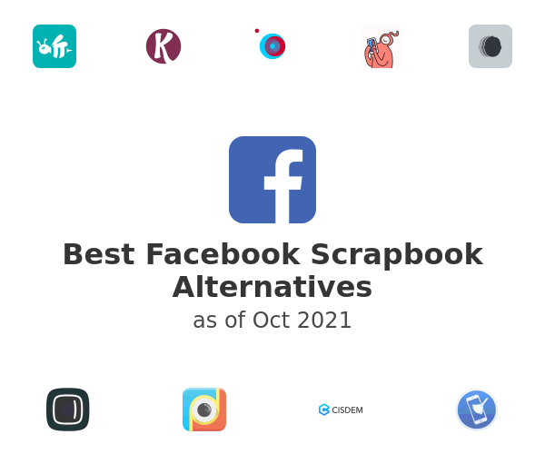 Best Facebook Scrapbook Alternatives