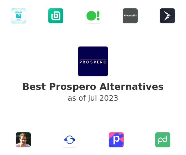 Best Prospero Alternatives