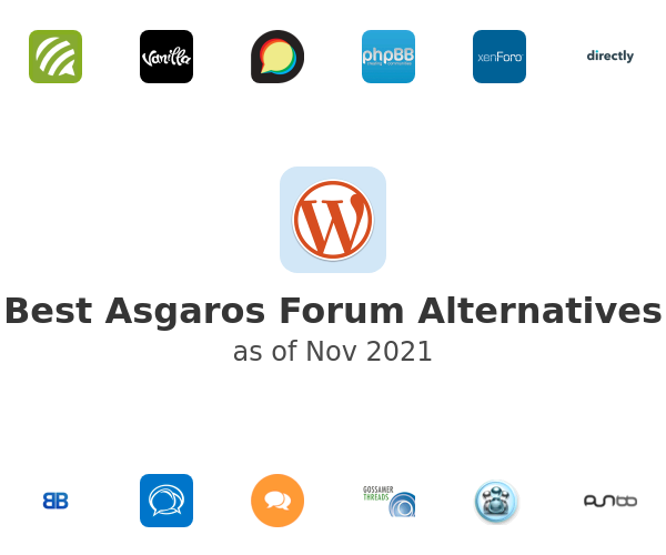 Best Asgaros Forum Alternatives