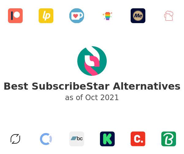 Best SubscribeStar Alternatives