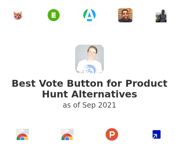 Best Vote Button for Product Hunt Alternatives