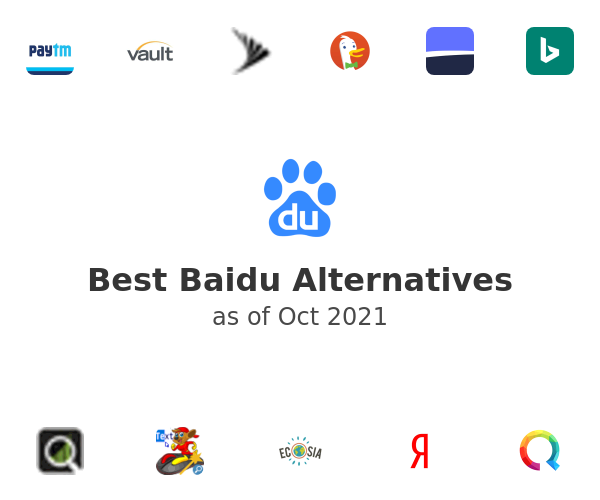 Best Baidu Alternatives