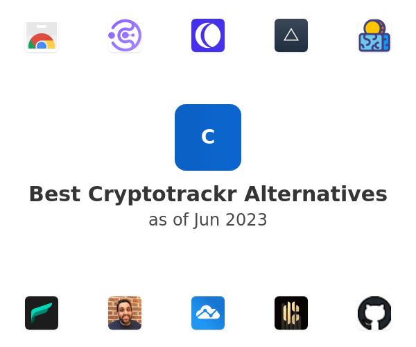 Best Cryptotrackr Alternatives
