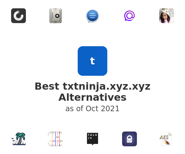 Best txtninja.xyz Alternatives