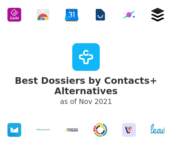 Best Dossiers by Contacts+ Alternatives
