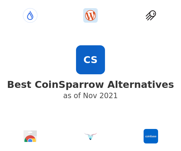 Best CoinSparrow Alternatives