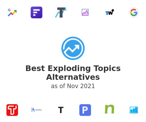 Best Exploding Topics Alternatives