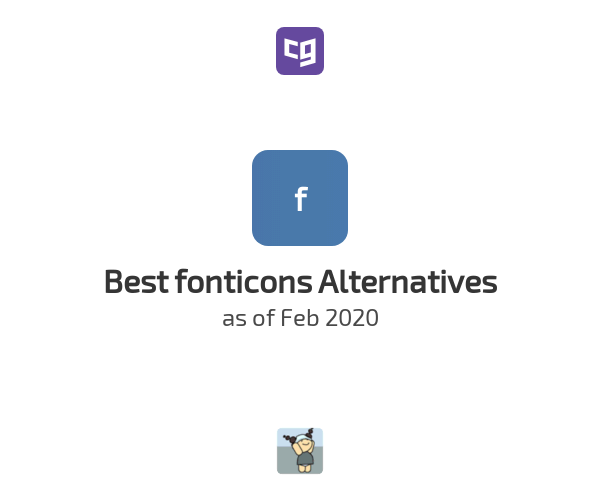 Best fonticons Alternatives