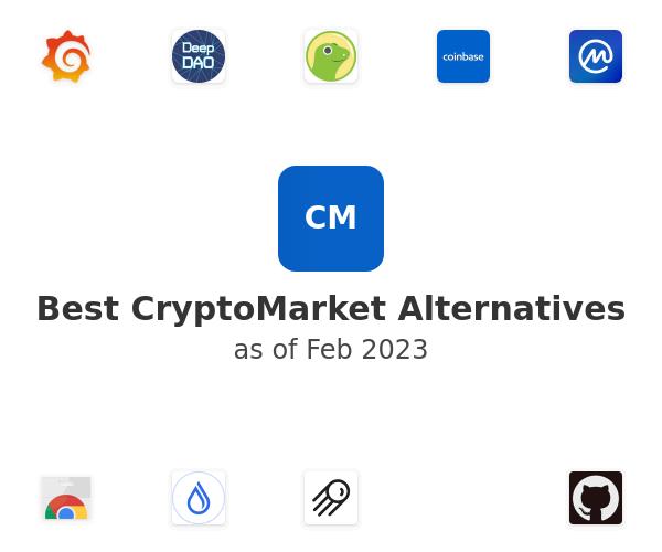 Best CryptoMarket Alternatives