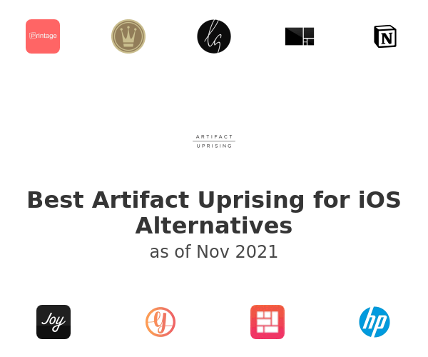 Best Artifact Uprising for iOS Alternatives