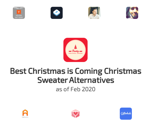 Best Christmas is Coming Christmas Sweater Alternatives