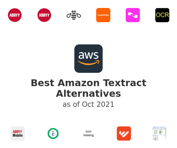 Best Amazon Textract Alternatives