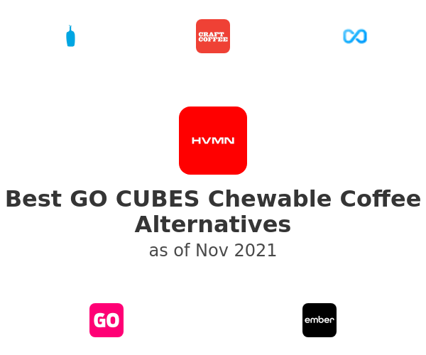 Best GO CUBES Chewable Coffee Alternatives