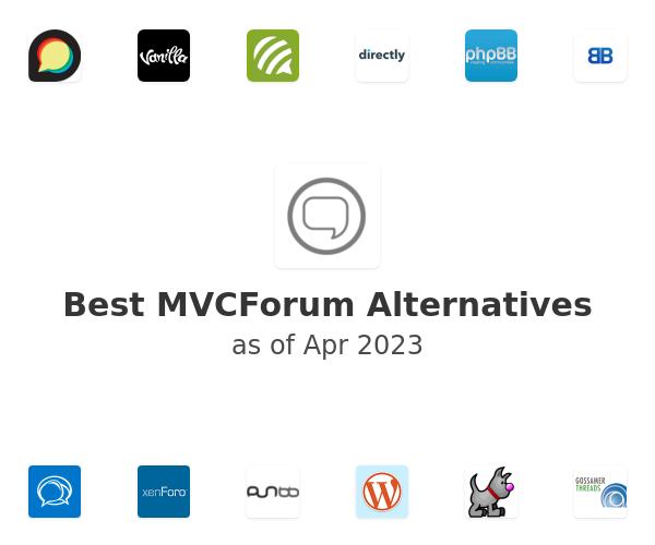Best MVCForum Alternatives