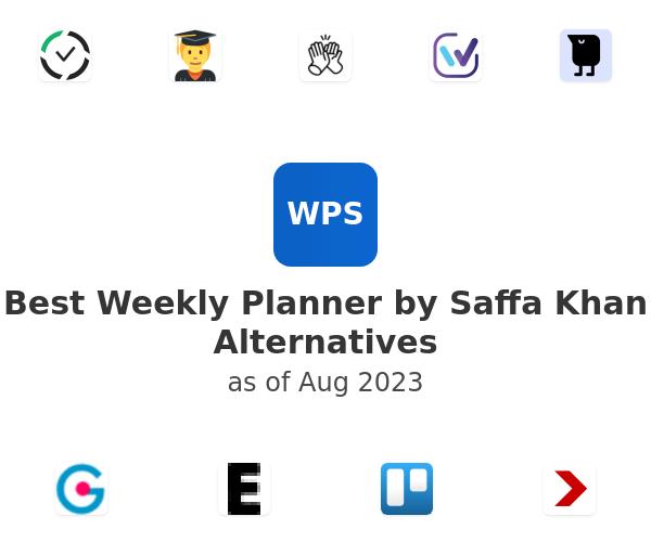 Best Weekly Planner by Saffa Khan Alternatives