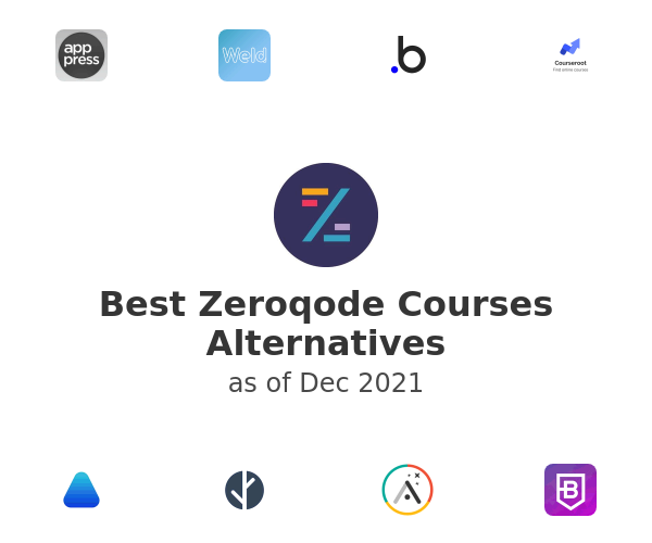 Best Zeroqode Courses Alternatives