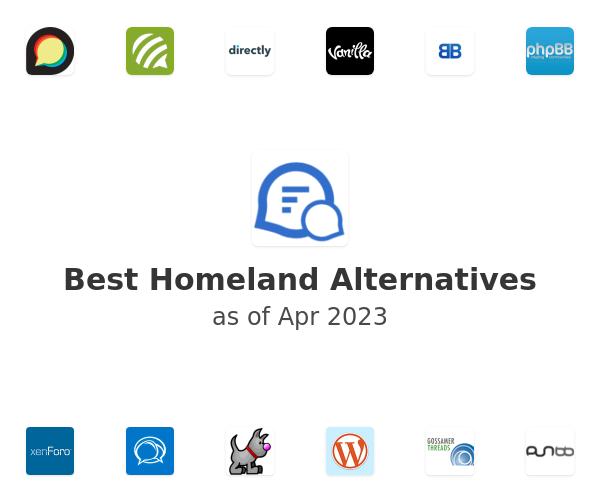 Best Homeland Alternatives