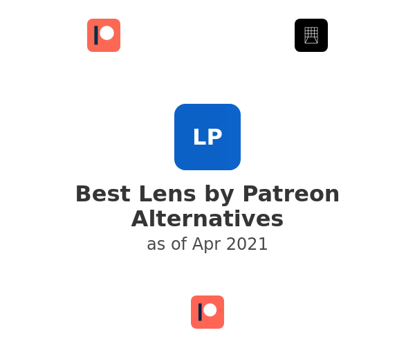 Best Lens by Patreon Alternatives