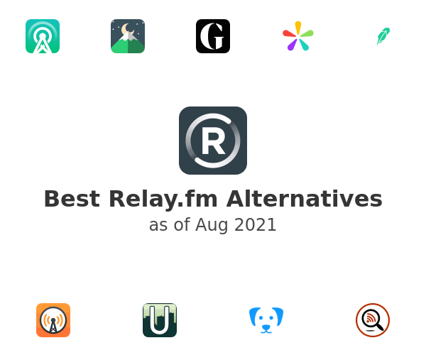 Best Relay.fm Alternatives