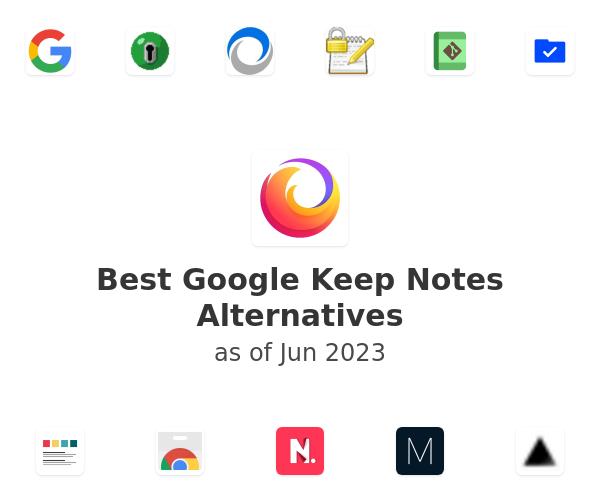 Best Google Keep Notes Alternatives