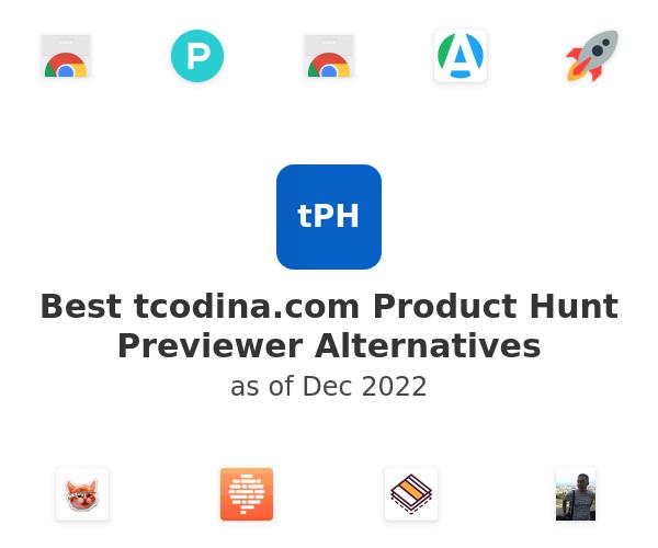 Best tcodina.com Product Hunt Previewer Alternatives